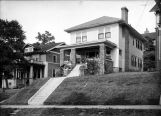The home of Annie Pfaff and her father, Herman, at 1433 South 18th Street in Birmingham, Alabama.