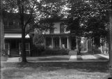 Home of Herman and Margaret Pfaff on Prospect Street in Ashtabula, Ohio, where they lived briefly...