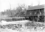 Brierfield grist mill on Mahan Creek in Bibb County, Alabama.