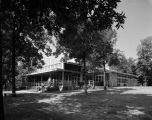 Main lodge and recreation center at the Y.W.C.A.'s Camp Grandview in Millbrook, Alabama.