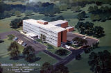 Artist's rendering of proposed Houston County Hospital in Dothan, Alabama.
