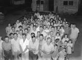 Employees of the J. H. Flack Lumber Company in Montgomery, Alabama, during a company picnic at the...