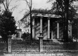 Thomas M. Cowles home on Goldthwaite Street and River Street in Montgomery, Alabama.