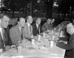 Barbecue for former governor Bibb Graves, Senator John H. Bankhead, and Senator Lister Hill, at...