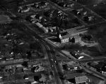 Aerial view of the area around Capitol Heights Baptist Church in Montgomery, Alabama.
