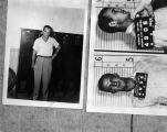 Photographs taken when Johnny Ray Smith was arrested in Panama City, Florida, in 1949.