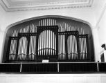 Organ at Trinity Presbyterian Church in Montgomery, Alabama.