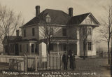 """Pelham Monument and Pelham Farm House, Elkwood, Va."""