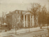Main building of the Marion Female Seminary in Perry County, Alabama.