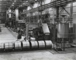 Hydrochloric acid pickling line at the Republic Steel Corporation plant in Gadsden, Alabama.