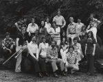 Hear and Now singers of Samford University at the Birmingham Botanical Gardens in Birmingham,...