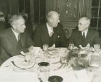 """Directors of the National War Fund in meeting at the Waldorf-Astoria in New York City..."