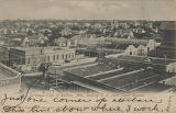 """Birdseye View of Dothan, Ala., looking S.E. from Court House."""