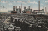 """Sloss Furnace. Pig Iron ready to ship, Birmingham, Ala."""