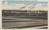 """Plant of American Steel & Wire Co., Showing By-Product Plant in Background. Fairfield -..."