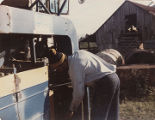 "Albert ""Peter"" Datcher on the family farm in Harpersville, Alabama."