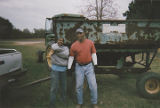 Elton Datcher, Jr., and Marvin Datcher on the family farm in Harpersville, Alabama.