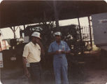 Members of the American Agriculture Movement at a gathering on Oscar Belvin's farm in Montezuma,...