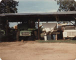 Vehicles and equipment on the Datcher family farm in Harpersville, Alabama.