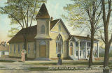 """Baptist Church and Parsonage, Greensboro, Ala."""