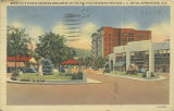 """Scene at 5 Points Showing Monument of the Beloved Reverend Brother J. A. Bryan, Birmingham,..."