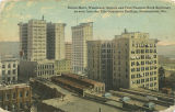 """Brown Marx, Woodward, Empire and First National Bank Buildings, as seen from the Title..."