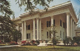 """Shorter Mansion, which houses the Eufaula Chamber of Commerce and Eufaula Historical Museum,..."