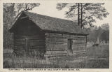 """'Clay-Bank,' the Oldest Church in Dale County Near Ozark, Ala."""