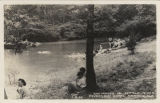 """Swimming in Little River, Riverside Hotel, Mentone, Ala."""