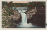 Desoto Falls, near Mentone and Fort Payne, Alabama.
