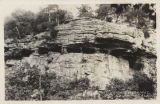 Cliff dwellings, Mentone, Ala.
