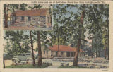 """Public Lodge and one of the Cabins, Monte Sano State Park, Huntsville, Ala."""