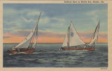 """Sailboat Race on Mobile Bay, Mobile, Ala."""