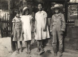 """Griffin children"" at the West Alabama Land Use Demonstration Project near Greensboro,..."