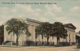 """Government Street Presbyterian Church and Burgett Memorial, Mobile, Ala."""