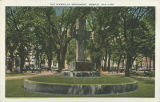 """The Bienville Monument, Mobile, Ala."""