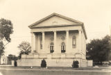 First Baptist Church, at the corner Randolph and Barbour Streets in Eufaula, Alabama.