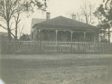 Mrs. E. C. Perry's home in Glennville, Alabama.