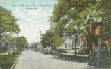 """View of St. Joseph St., looking North, Mobile, Ala."""