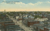 """Bird's Eye View, showing State Capitol, Montgomery, Ala."""