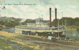 """The Wharf, Alabama River, Montgomery, Ala."""