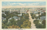 """Bird's Eye View from State Capitol, Montgomery, Ala."""