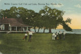 """Mobile Country Golf Club and Links, showing Bay, Mobile, Ala."""