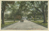"""Augusta Evans Wilson's Home, View from Spring Hill Ave., Mobile, Ala."""