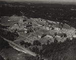Aerial view of the Howard College campus in Birmingham, Alabama.