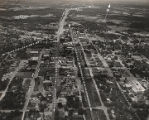 Aerial view of Cullman, Alabama.