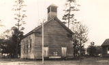 Old Methodist church in Monroe County, Alabama.