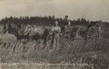 """Cutting and Threshing 40 Acres Soy Beans - Wm Goetz Farm - Foley, Ala."""