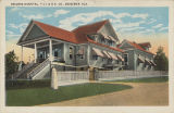 """Reeders Hospital, T.C.I.&R.R.Co., Bessemer, Ala."""