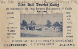 """Blue Bell Tourist Camp On Highway 31, Halfway Between Montgomery and Mobile."""
